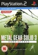Metal Gear Solid 3: Subsistence PS2 packshot