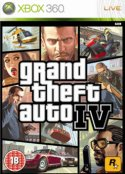 Grand Theft Auto 4 Xbox 360 packshot