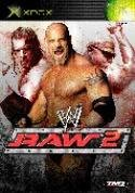 WWE Raw 2 Xbox packshot