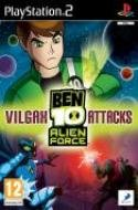 Ben 10 Alien Force Vilgax Attacks PS2 packshot
