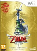 Legend of Zelda Skyward Sword Wii packshot