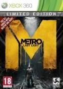 Metro Last Light Xbox 360 packshot